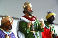 Krippenfiguren König