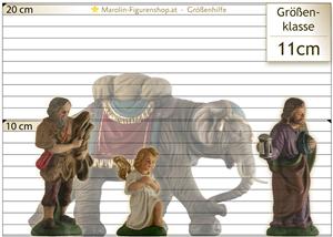 Krippe-Figur Größe Hilfe 11 cm