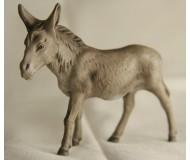 Krippenfigur-Esel-stehend
