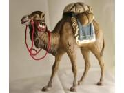 Kamel mit Gepäck (blau), 11cm, auch für 12cm passend