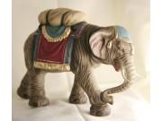 Elefant mit Gepäck, 11cm, auch zu 12cm passend