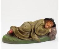 Hirte schlafend, mit Decke, 11cm