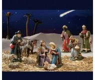 Krippe komplett, Christi Geburt Set 1, 12cm