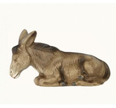 Esel, liegend, 12cm
