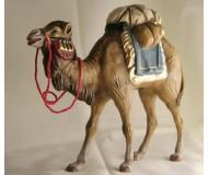 Kamel mit Gepäck (blau), 12cm, auch für 11cm passend