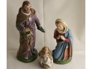 Heilige Familie, Set 3, 12cm (Bodenkr.)