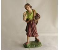 Krippenfigur-Hirtin-mit-Früchte-Korb-Figur-groessenklasse-12cm