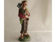 Hirten-Junge mit Dudelsack, 12cm