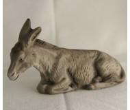 Esel, liegend, 14cm