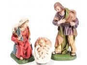 Heilige Familie, Set 3, 14cm (Bodenkr.)