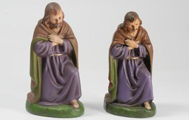 Krippenfiguren im Online-Shop. Josef, kniend, unterschiedliche Größen