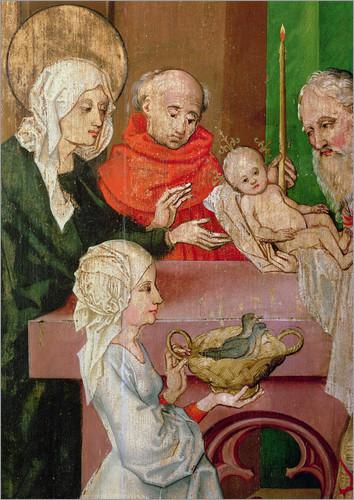 Martin-Schongauer-Darstellung-des-Herrn-Maria-Lichtmess-Krippenfiguren-verpacken-fuer-naechste-Weihnachten