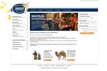Krippenfiguren-Webseite