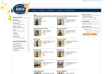 Krippen-Figuren-Webseite